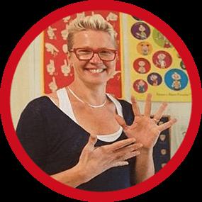 Portrait Valérie, professeur de langue des signes