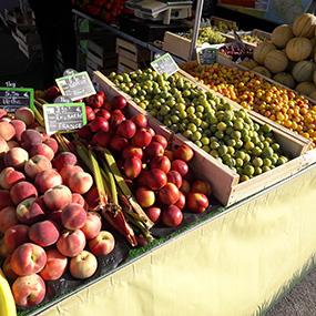 Portrait Fabien, primeur fruits et légumes